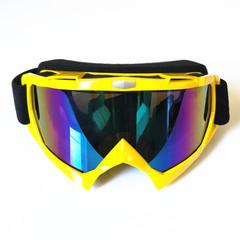 Горнолыжная маска №6 желтая