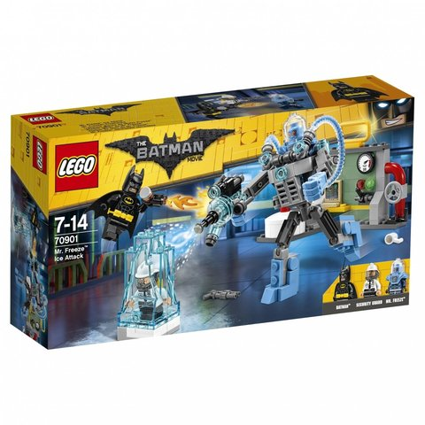 LEGO Batman Movie: Ледяная aтака Мистера Фриза 70901 — Mr. Freeze™ Ice Attack — Лего Бэтмен Муви