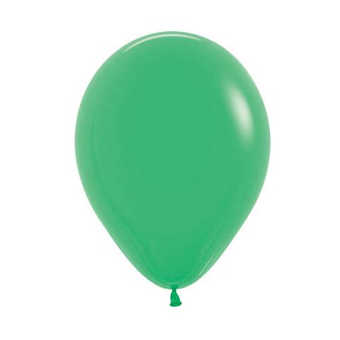 Латексный воздушный шар, цвет зеленый, пастель