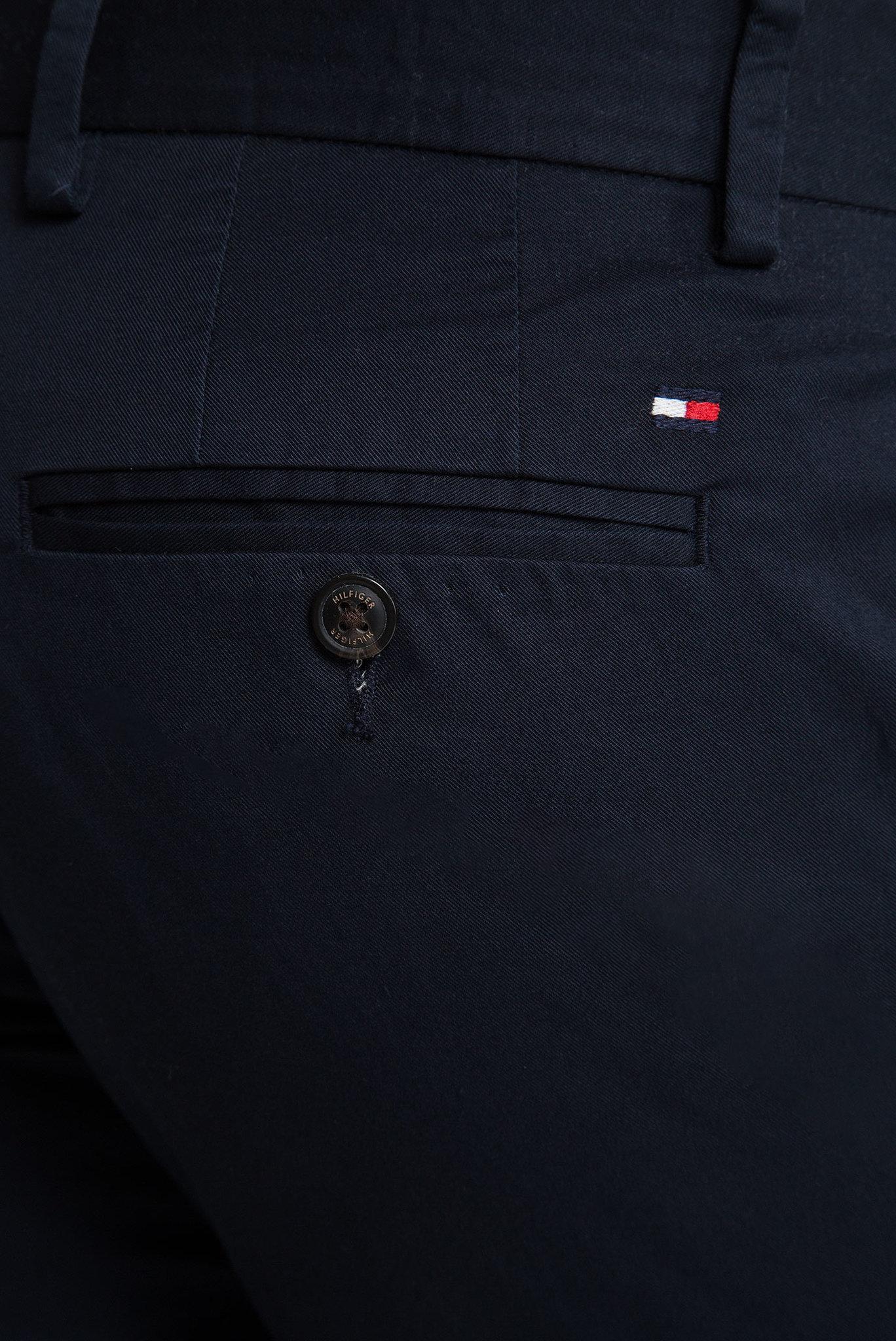 Мужские темно-синие чиносы DENTON SUMMER TWILL FLEX Tommy Hilfiger