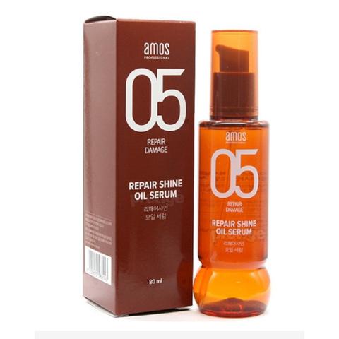 Amos 05 Repair Shine Oil Serum масло-сыворотка для волос