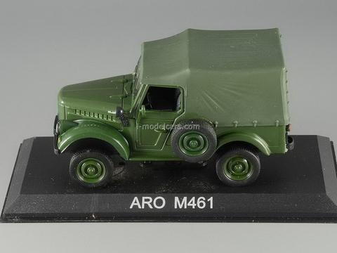 ARO M461 green 1:43 DeAgostini Masini de legenda #14