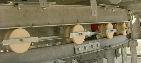 Нейлоновые колеса на платформе Карусели