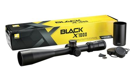 Nikon BLACK X1000 4-16x50SF Matte X-MOA