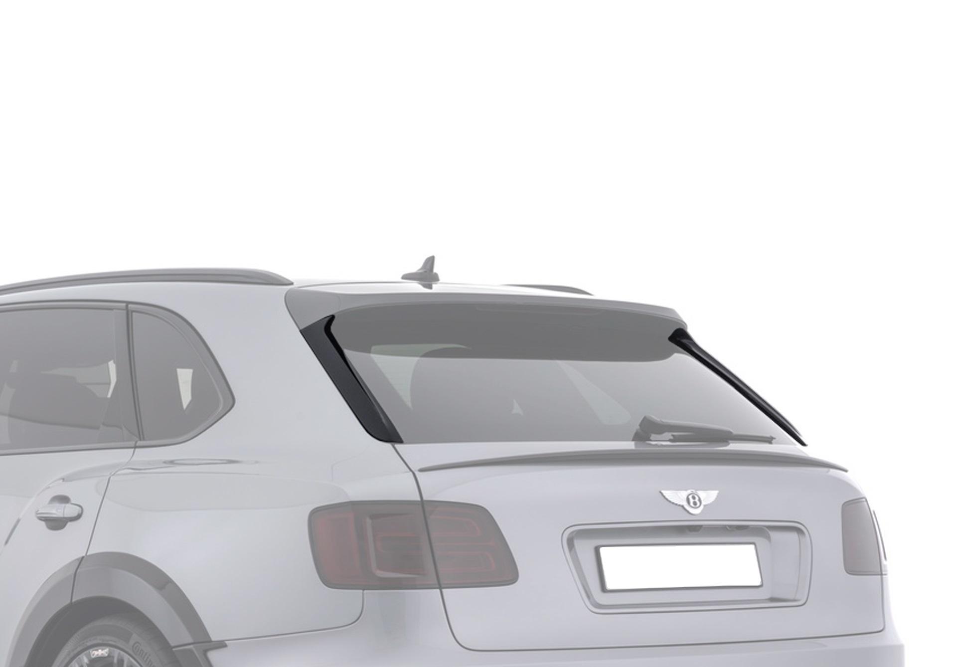 Карбоновые боковые накладки на багажник Startech Style для Bentley Bentayga