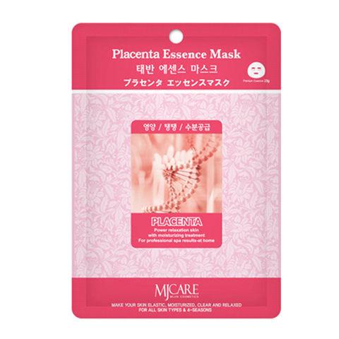 Тканевая маска для лица плацента MIJIN Care Mask