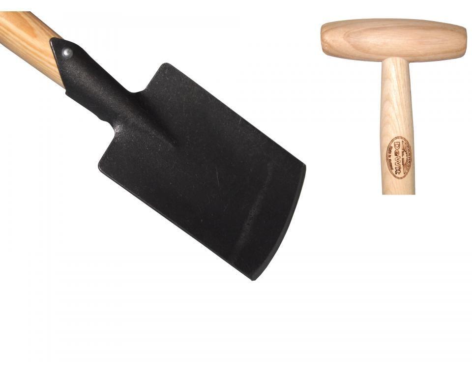 Детская лопата DeWit Т-образная рукоятка из ясеня 800мм