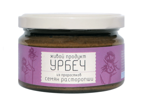 Урбеч из проростков семян расторопши, 225 гр. (Живой продукт)