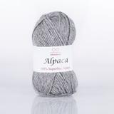 Пряжа Infinity Alpaca 0041 светло-серый