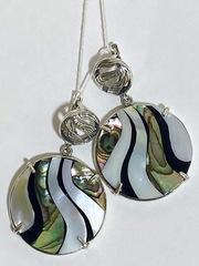 Инферно (серебряные серьги)