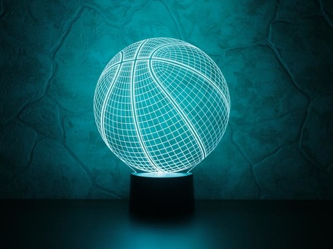 Лампа Баскетбольный мяч