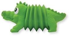 """Игрушка для собак OH Accordionz """"Крокодил"""" латекс с пищалкой"""