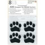 ABS-противоскользящие наклейки Regia для носков черный (8 шт.)