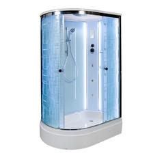 Душевая кабина DETO ЕМ2712 R 120х80 см с LED подсветкой и гидромассажем