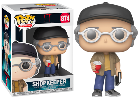 Stephen King Shopkeeper Funko Pop! Vinyl Figure || Стивен Кинг старьевщик