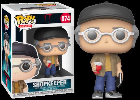 Stephen King Shopkeeper Funko Pop! Vinyl Figure || Стивен Кинг старьевщик