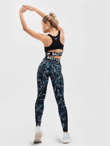 Леггинсы жен. для йоги и фитнеса Energy marble