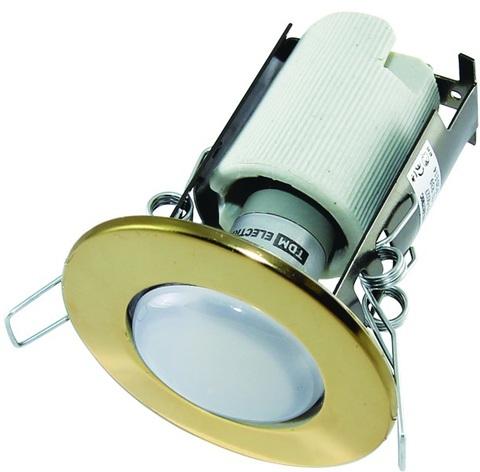 Светильник встраиваемый СВ 01-02 R39 40Вт Е14 золото TDM