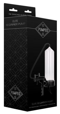 Прозрачная вакуумная помпа с насосом Elite Beginner Pump