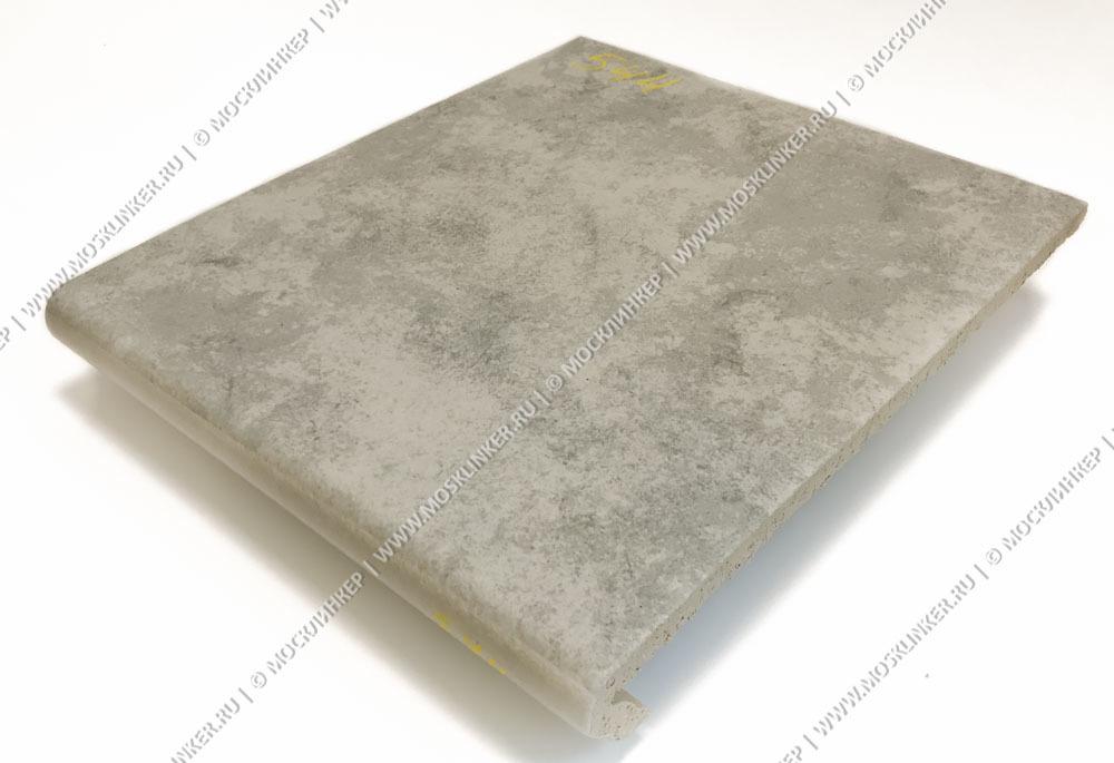 Stroeher - Euramic Cavar E 544 chiaro 340х294х11 артикул 9350 - Клинкерная ступень - флорентинер
