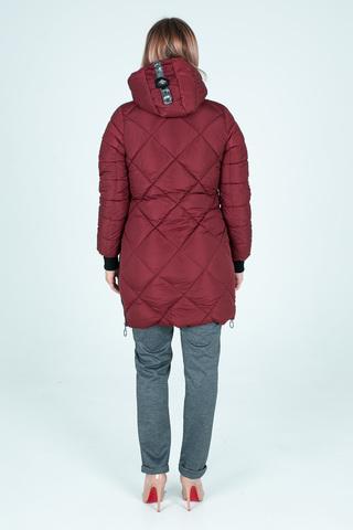 Куртка плащевка на синтепоне удлиненная оптом