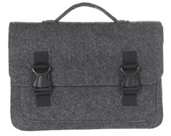 Черный войлочный портфель Gmakin для Macbook Air/Pro 13,3 на пластиковых застежках