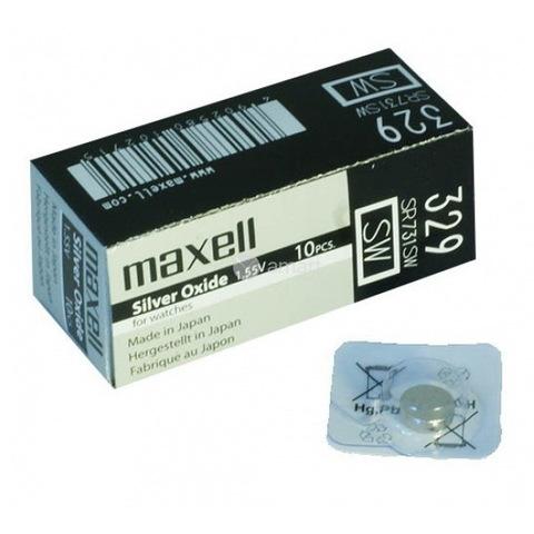 Батарейки часовые Maxell SR731W-B1 (329) 1x10