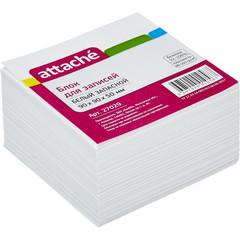 Блок для записей Attache 90x90x50 мм белый (плотность 80-100 г/кв.м)