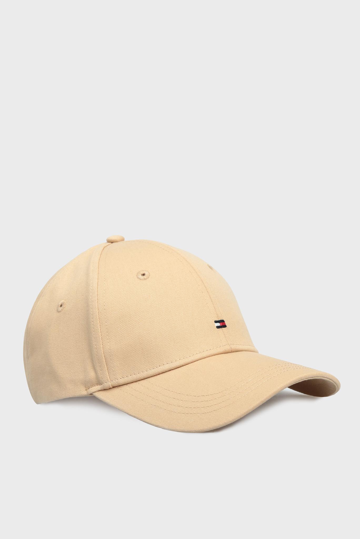Женская бежевая кепка BB Tommy Hilfiger