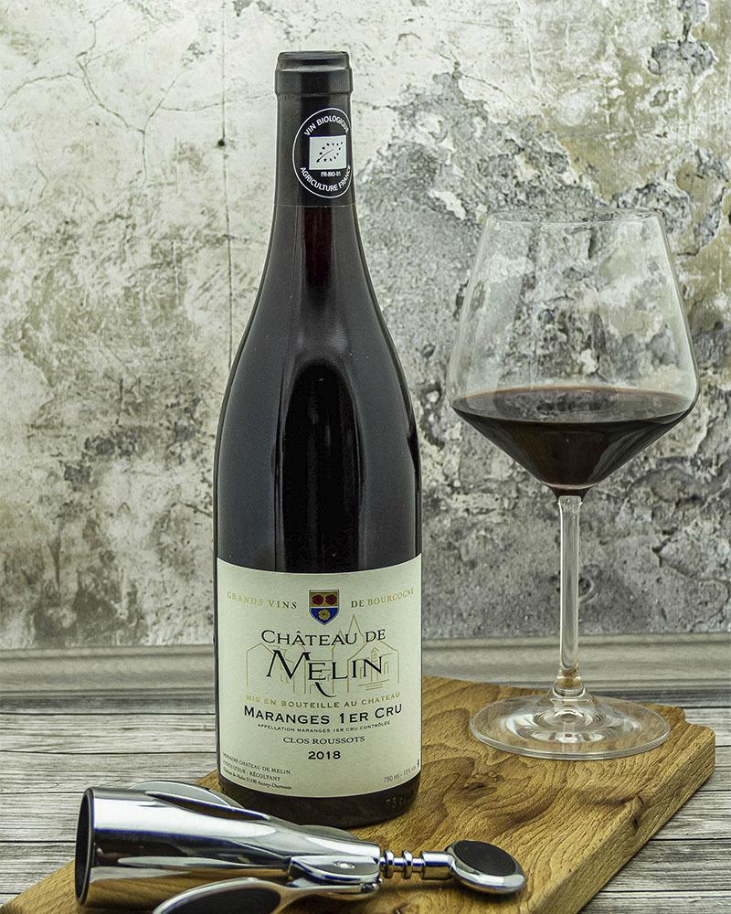 Вино Chateau De Melin Шато де Мелан Маранж Премье Крю