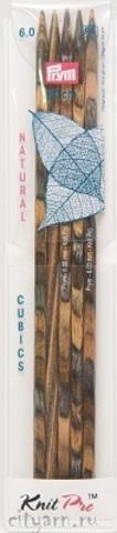 Prym Cubics Спицы чулочные (дерево), № 6, 20 см