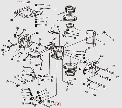 Кольцо для лодочного мотора T9.8 Sea-PRO (11-58)