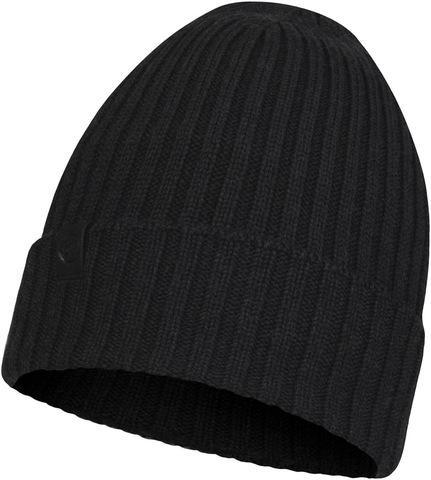Вязаная шерстяная шапка Buff Hat Wool Knitted Norval Graphite фото 1