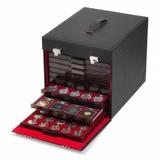 Кофр из кожезаменителя (черный) на 10 кассет MB