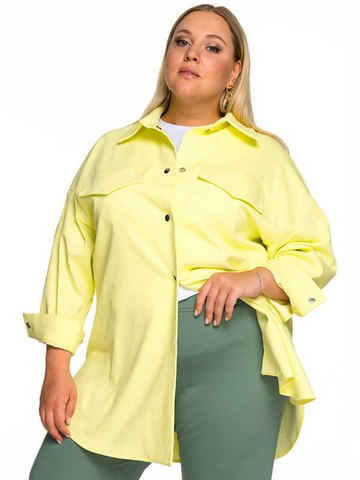 Рубашка из хлопка Лимонный сорбет
