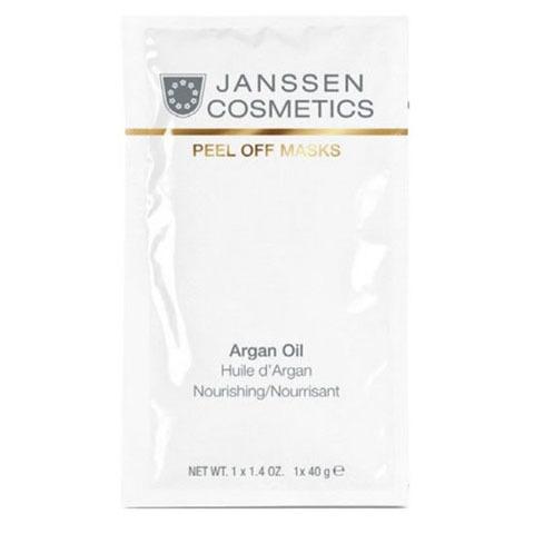 Janssen Peel off Mask: Обогащённая липидами альгинатная маска с аргановым маслом для лица (Argan Oil)