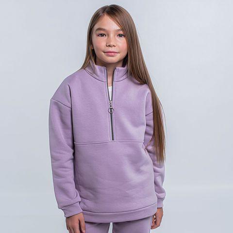 Warm sporty sweatshirt for teens - Heather