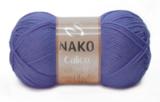 Пряжа Nako Calico фиолетовый 10287