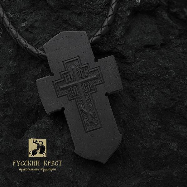 крест якорь деревянный