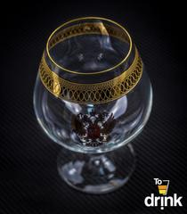 Подарочный набор из 6 хрустальных бокалов для коньяка «Министерский», 400 мл, фото 5
