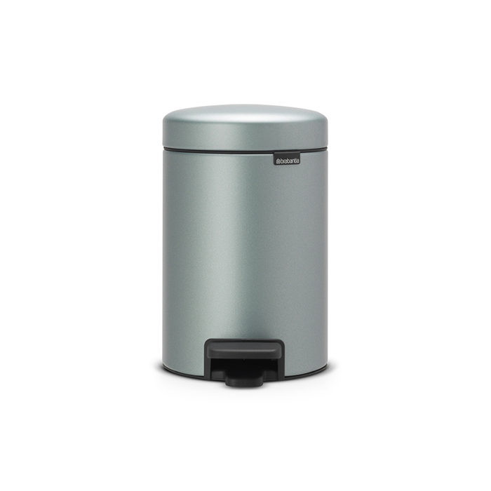 Мусорный бак newicon (3 л), Мятный металлик, арт. 113345 - фото 1