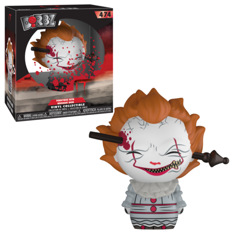 Фигурка Funko Dorbz: Horror W5: Pennywise w/wrought iron
