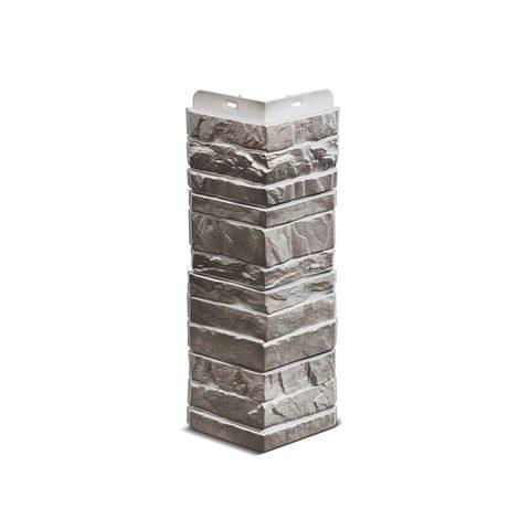Угол наружный Деке Камень  400 х 185 мм Базальт