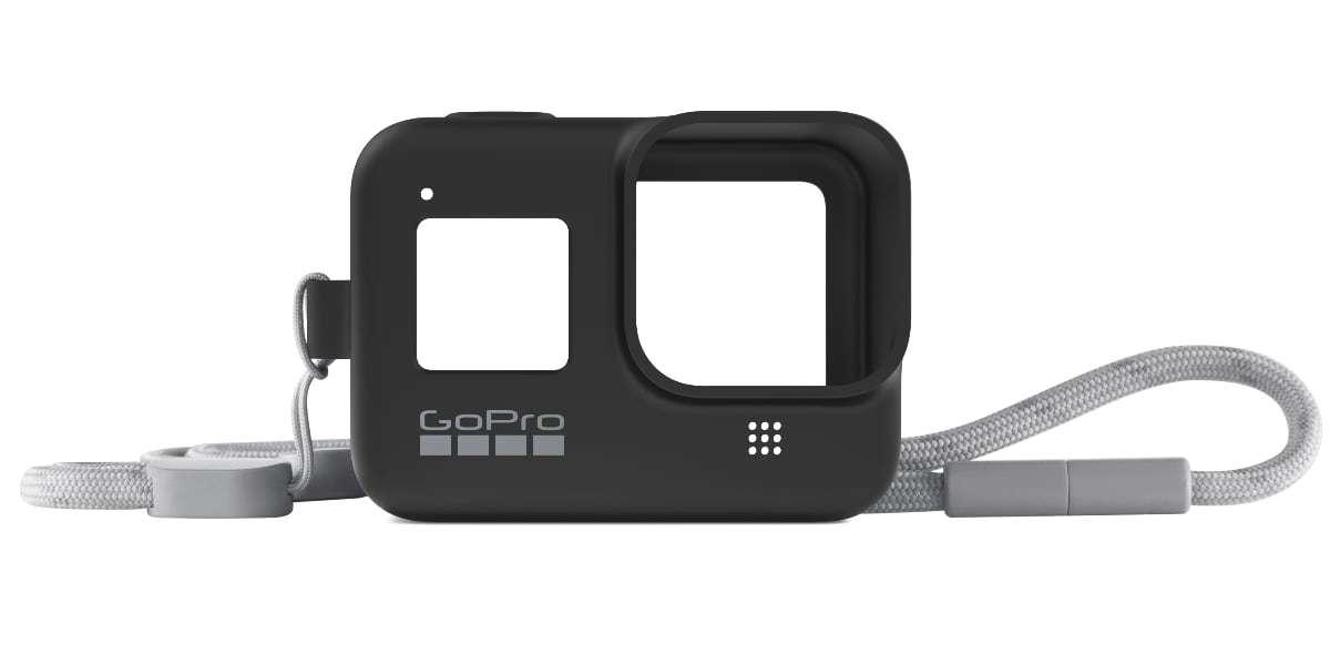 Силиконовый чехол с ремешком для GoPro HERO8 Sleeve + Lanyard