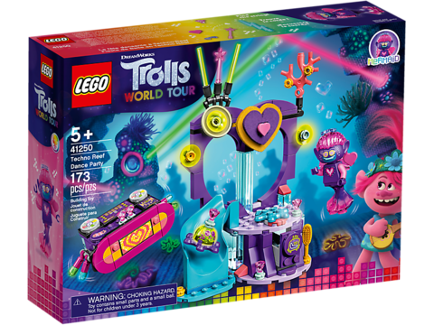 LEGO Trolls: Вечеринка на Техно-рифе 41250 — Techno Reef Dance Party — Лего Троллз Тролли
