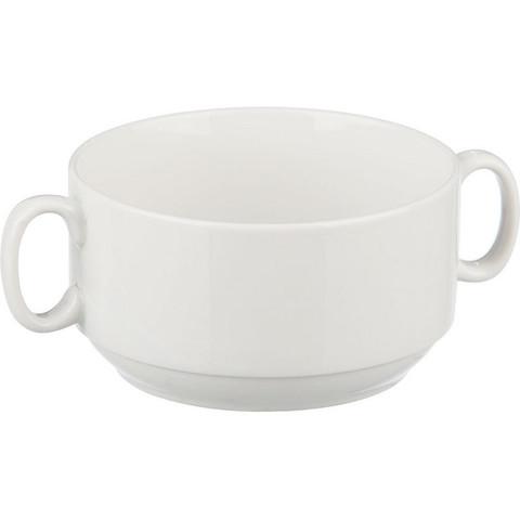 Чаша для бульона Добруш фарфоровая белая 470 мл (артикул производителя 4С0677Ф34)