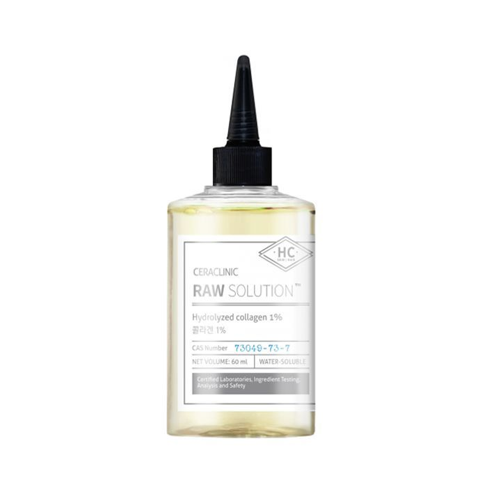 Сыворотки для лица Сыворотка с коллагеном для упругости и эластичности кожи и волос CERACLINIC Raw Solution Hydrolyzed Collagen 1% 60 мл 13334_0.jpg