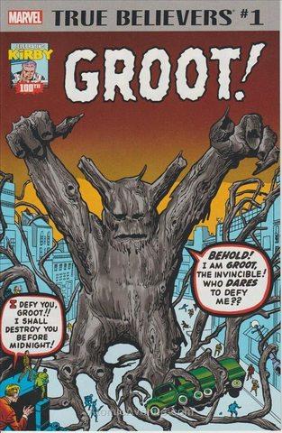 True Believers: Kirby 100th—Groot #1