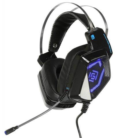 Наушники с микрофоном Оклик HS-L800G ALIEN черный 2.5м мониторные оголовье (HS-L800G)