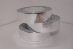 Лента металл (3 см*50 ярд) серебро